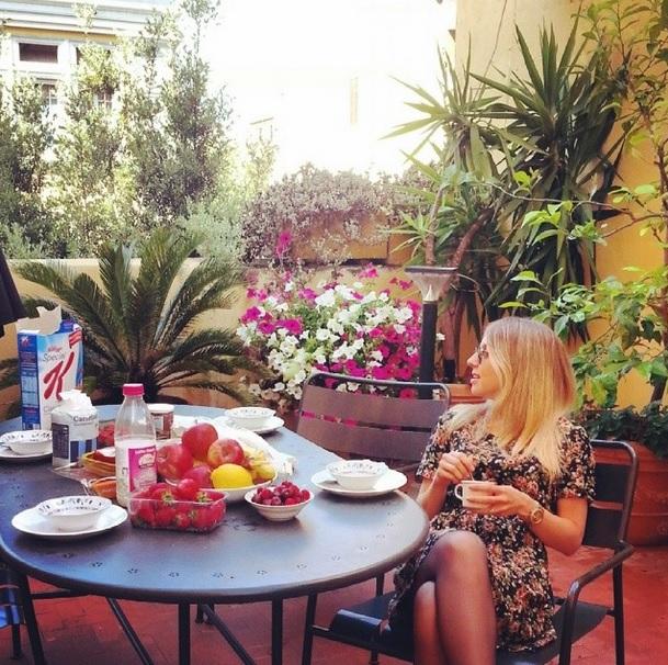 Mirella Roma vestido floral 14
