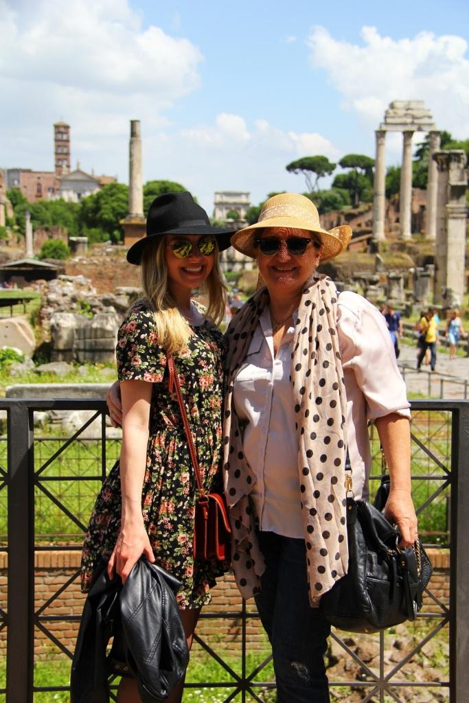 Mirella Roma vestido floral 18
