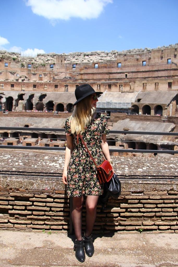 Mirella Roma vestido floral 4