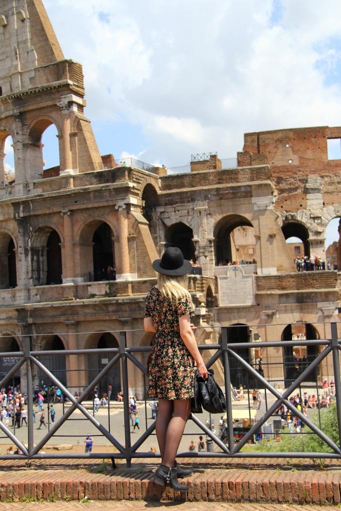 Mirella Roma vestido floral 9