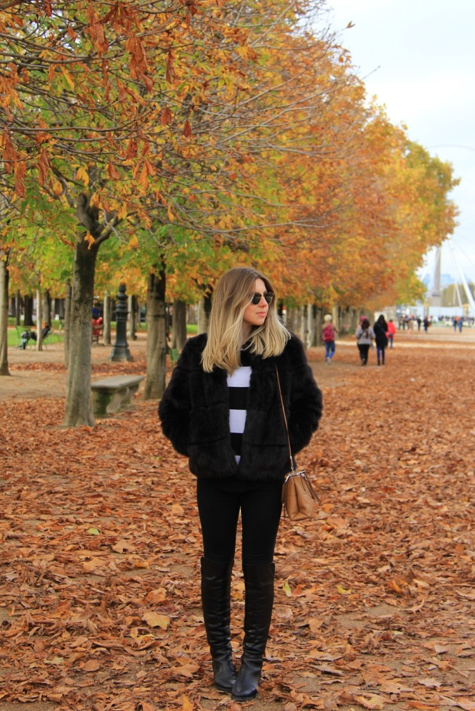 Paris casaco de pele Mirella 12