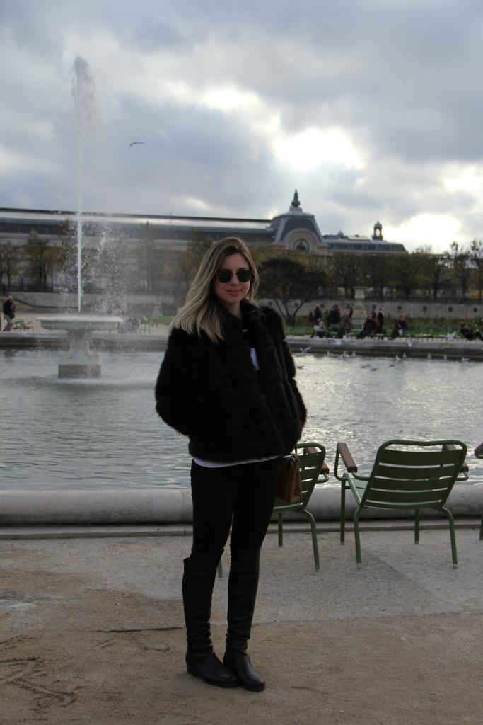 Paris casaco de pele Mirella 16