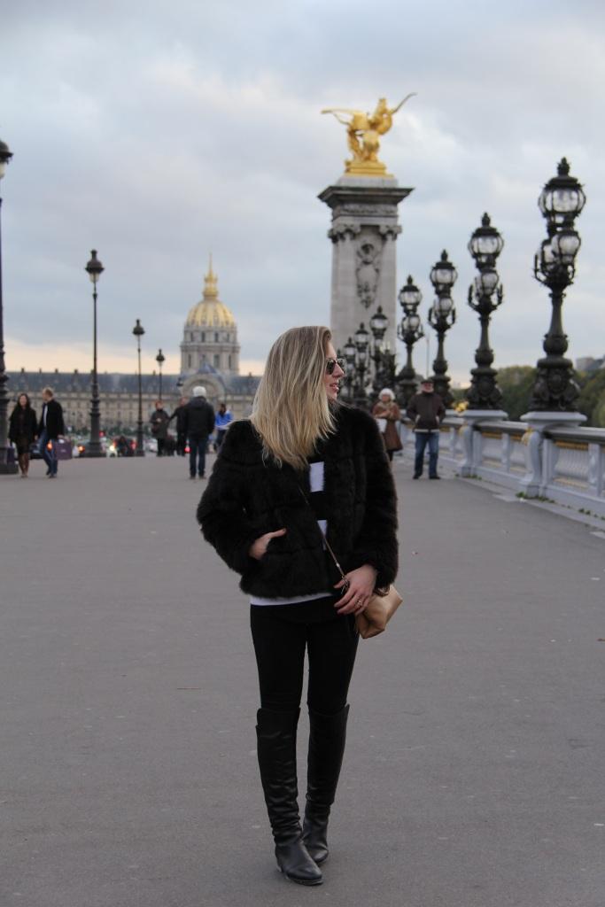 Paris casaco de pele Mirella 21