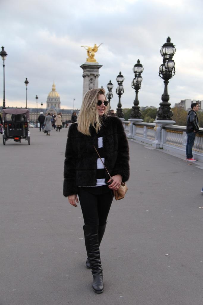 Paris casaco de pele Mirella 22
