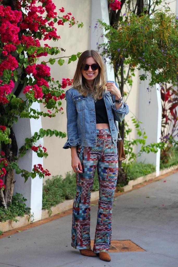 Mirella calça estampada Chica Brasil 2