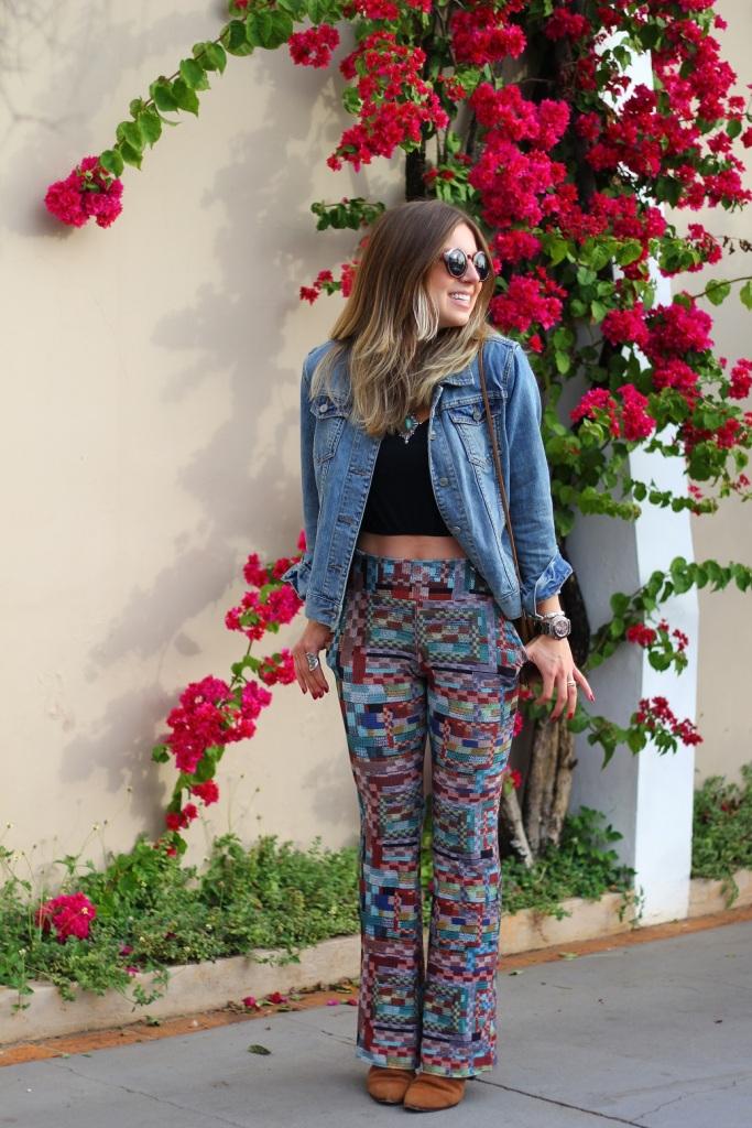 Mirella calça estampada Chica Brasil 3