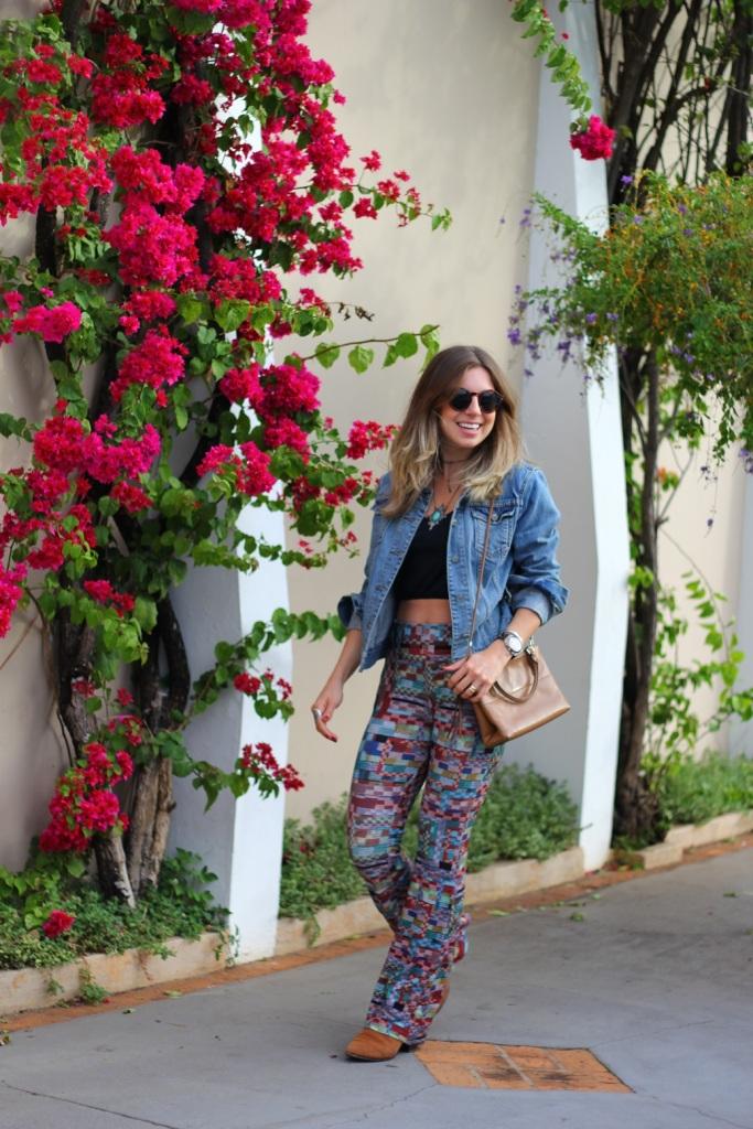 Mirella calça estampada Chica Brasil 5