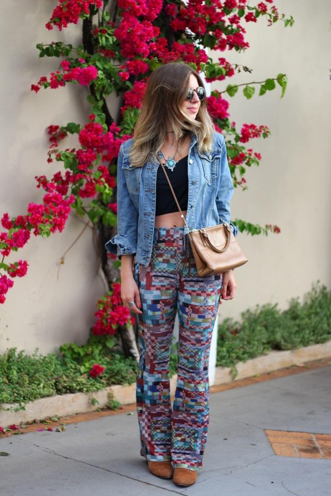 Mirella calça estampada Chica Brasil 6