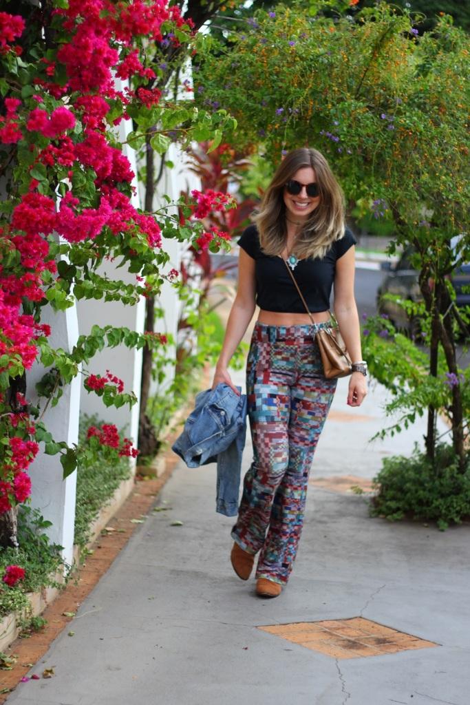 Mirella calça estampada Chica Brasil 7