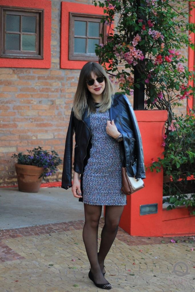 Mirella Liquido vestido tweed 1