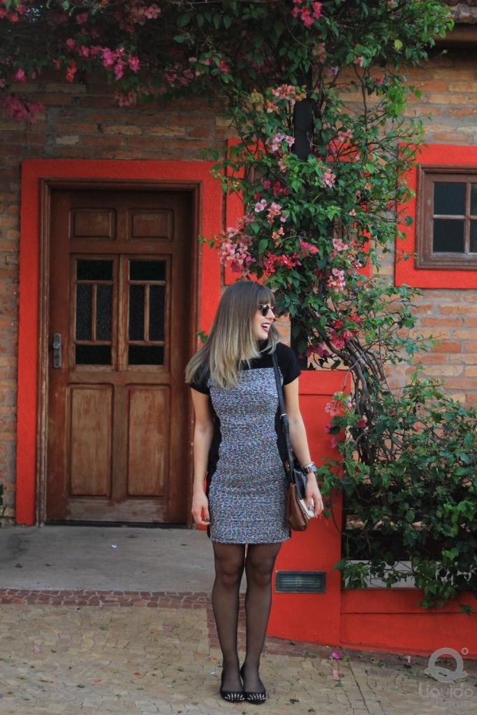 Mirella Liquido vestido tweed 2