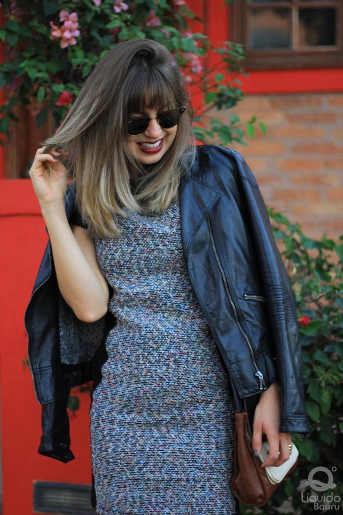 Mirella Liquido vestido tweed 3
