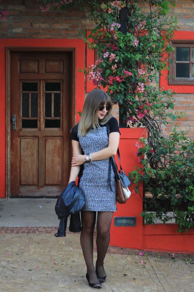 Mirella Liquido vestido tweed 7