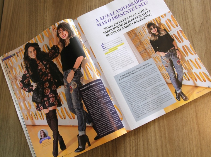 Revista AZ edição especial Mirella 4