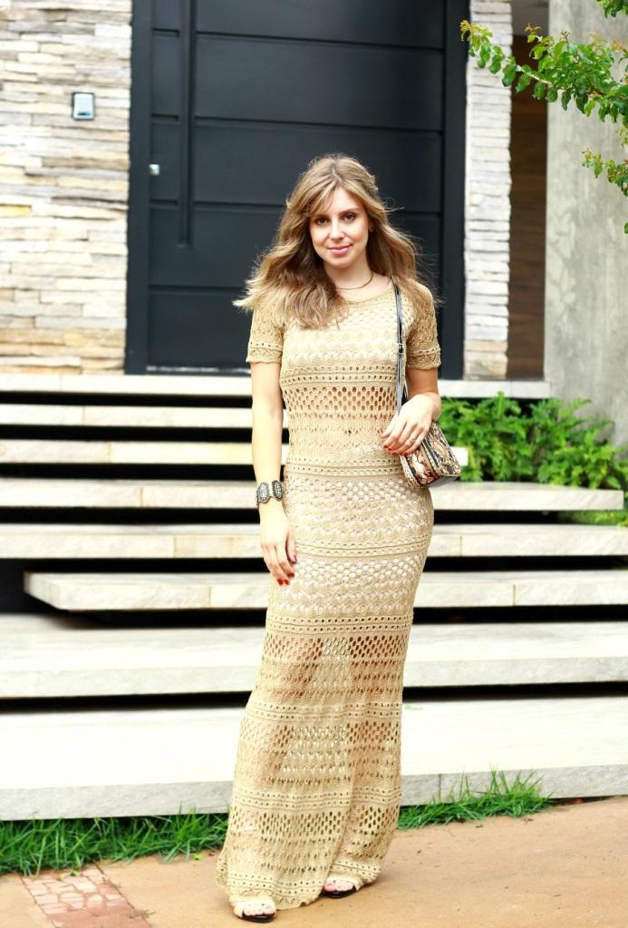 Mirella Vestido longo Carmen Steffens 112