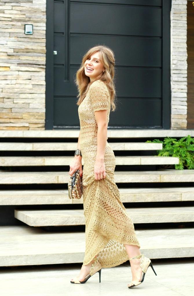 Mirella Vestido longo Carmen Steffens 42