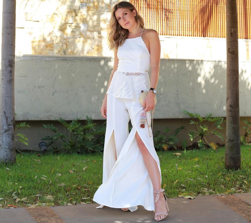 Natal   Reveillon – 1 Pantalona Branca em 2 Looks 99230a7ca8351